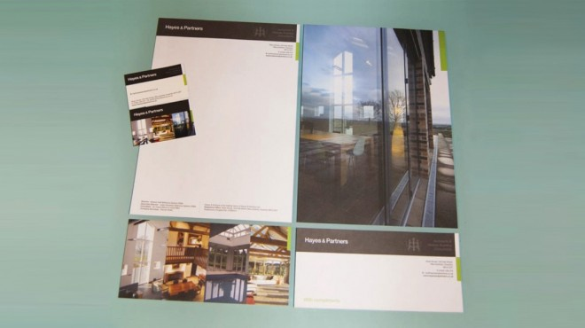 Hayes & Partners Stationery