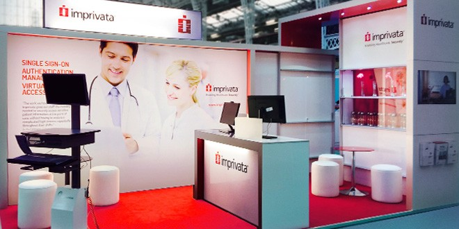 Imprivata Exhibition Stand