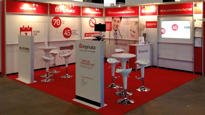 Imprivata Exhibition Stand (1)