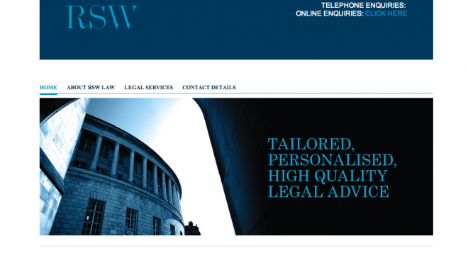 RSW Law Website