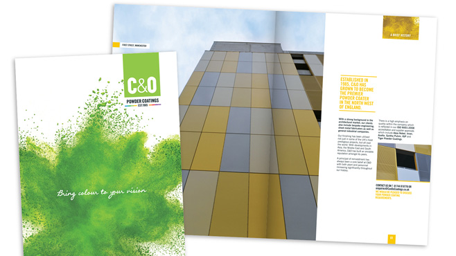 C&O Powder Coatings Brochure