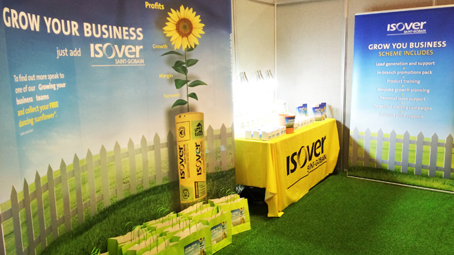 Isover Grow Your Business Stand