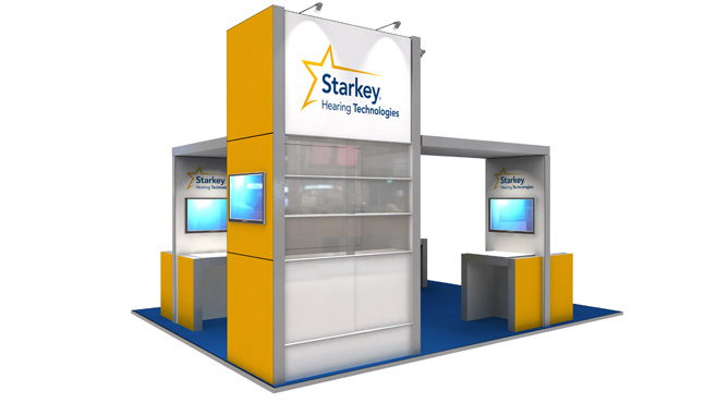 Starkey Exhibition Stand