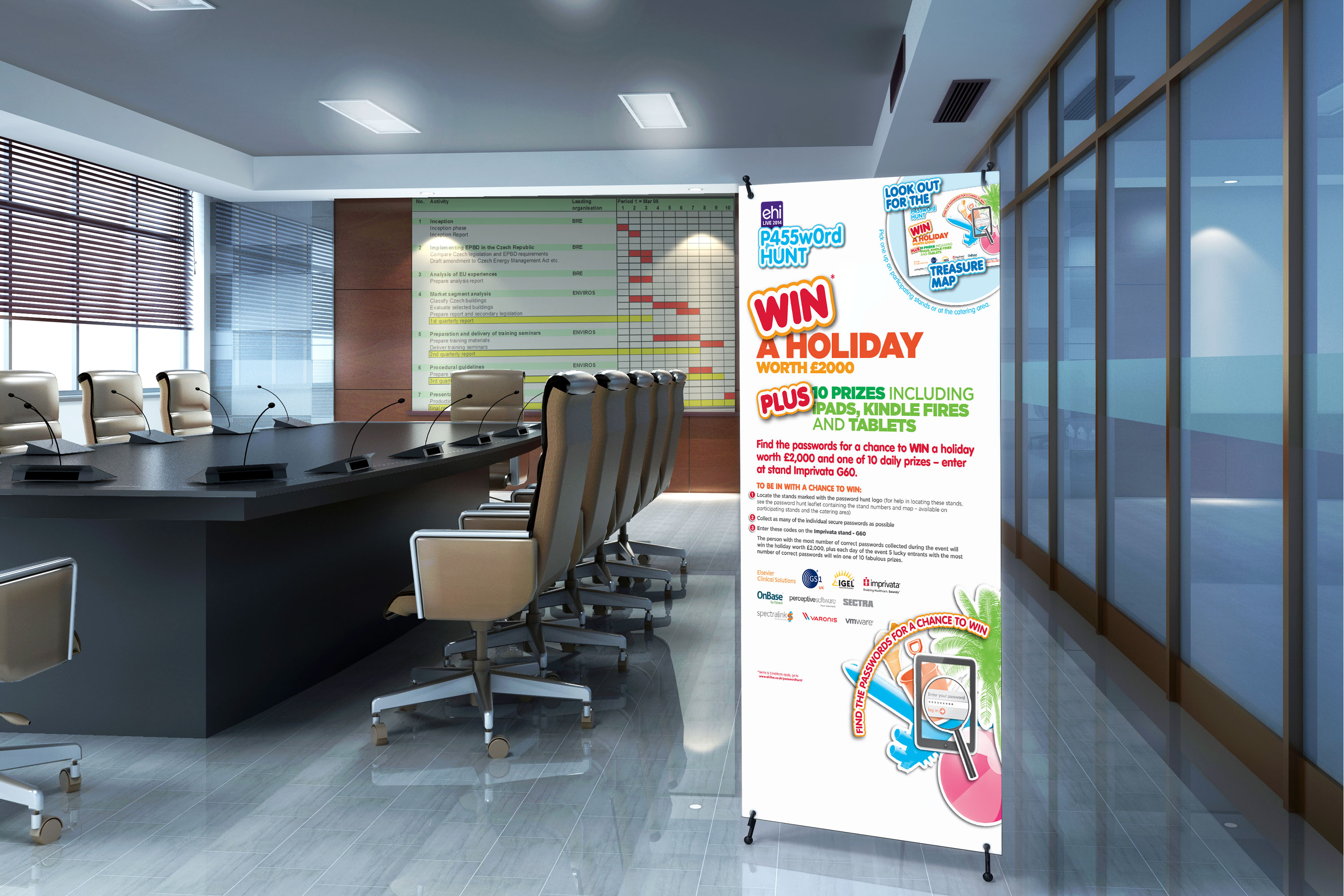 EHI Password Hunt Roller Banner
