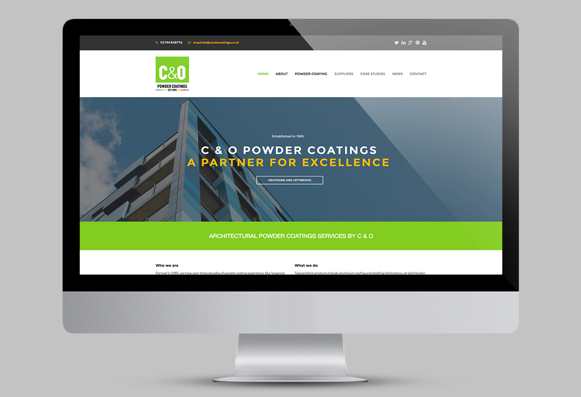 C&O Powder Coatings Website