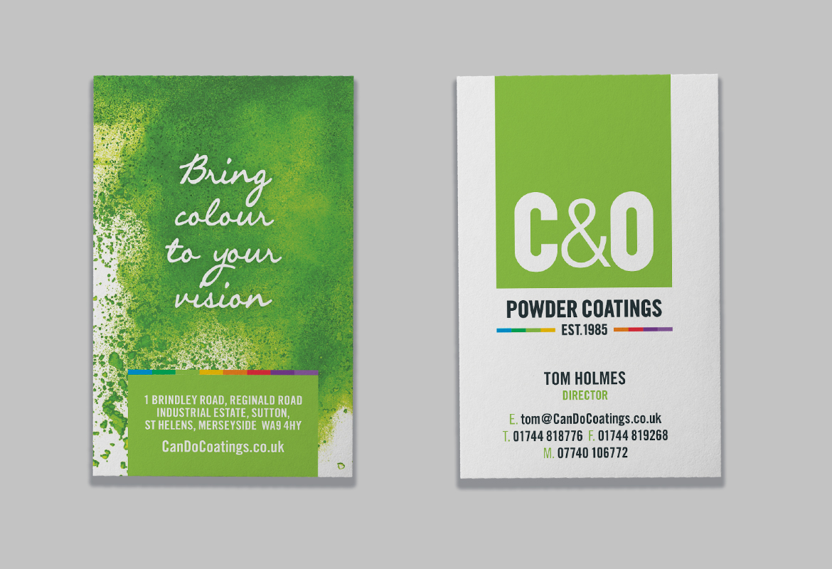 C&O Powder Coatings Business Card