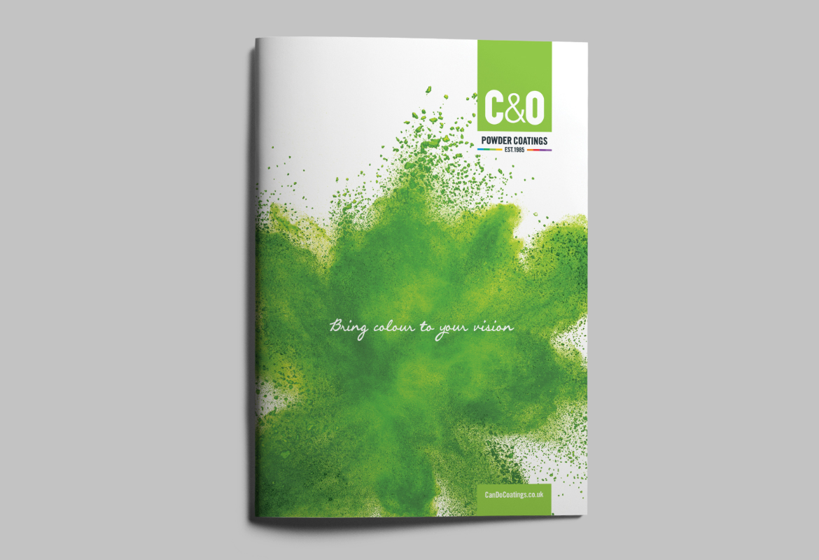 C&O Powder Coatings Brochure Cover