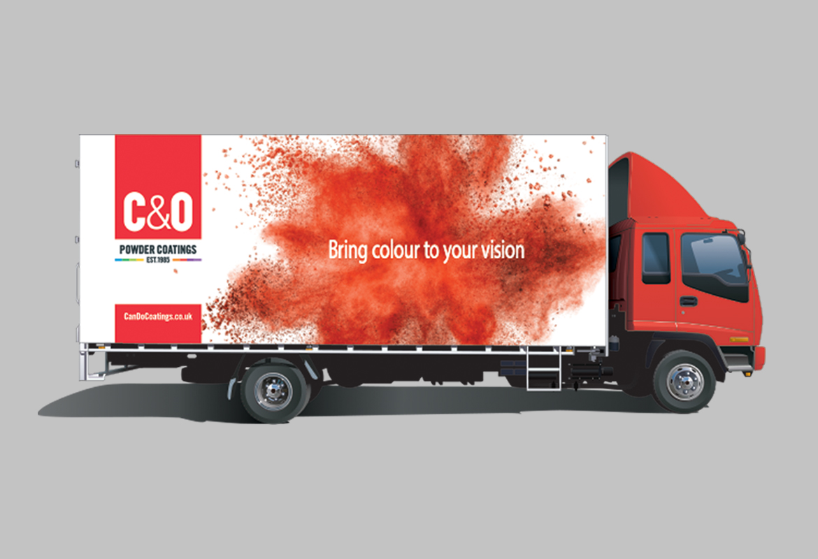 C&O Powder Coatings Livery