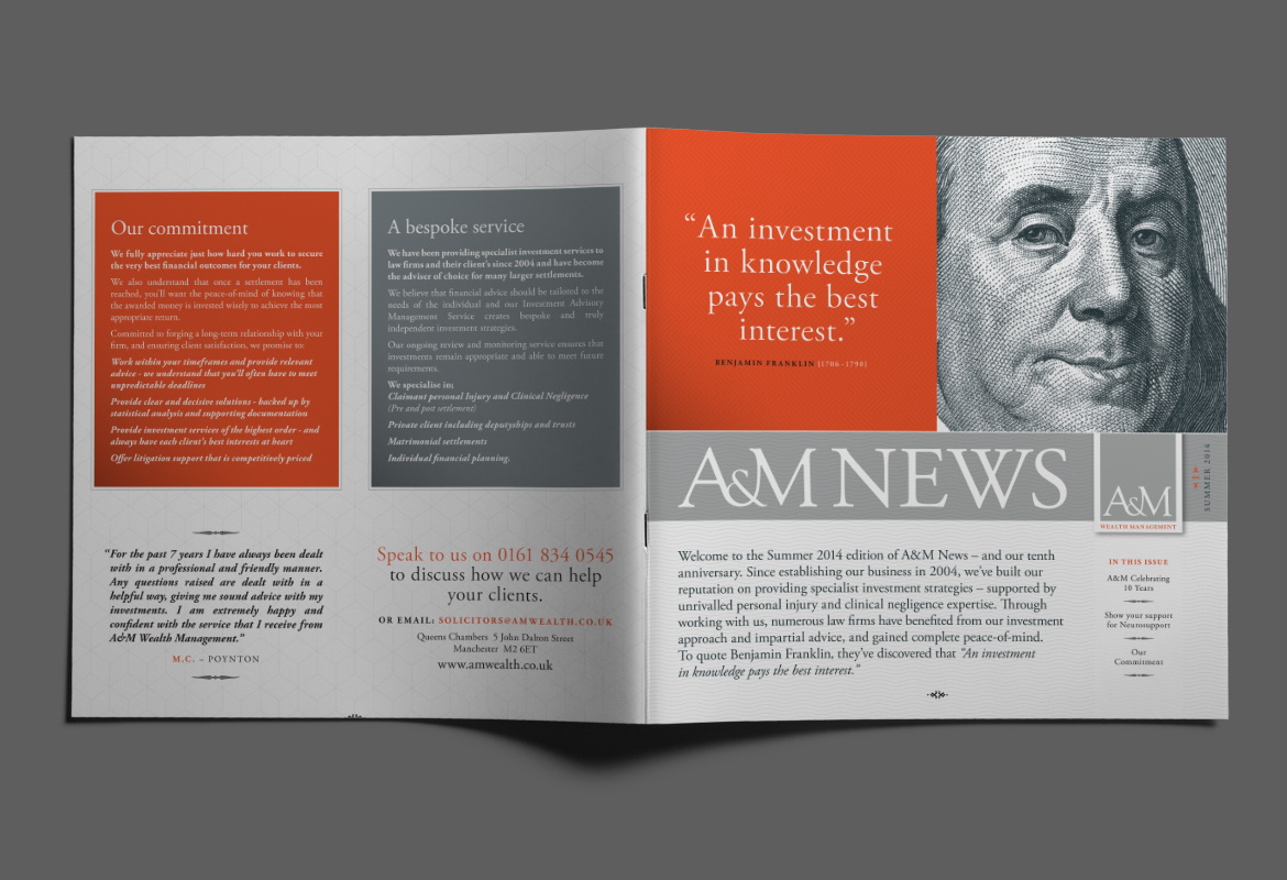 A&M Wealth Management Newsletter