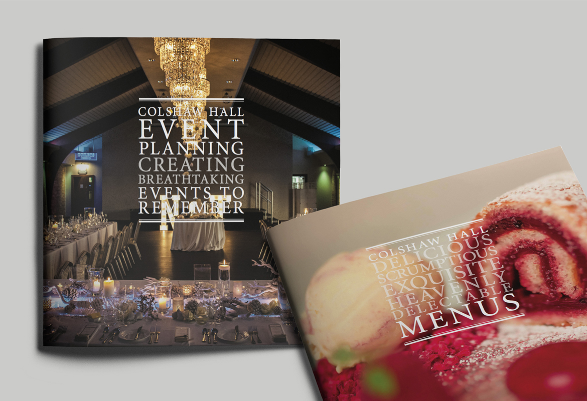 Colshaw Hall Events Brochure