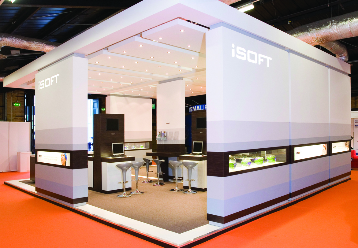iSOFT Exhibition Stand