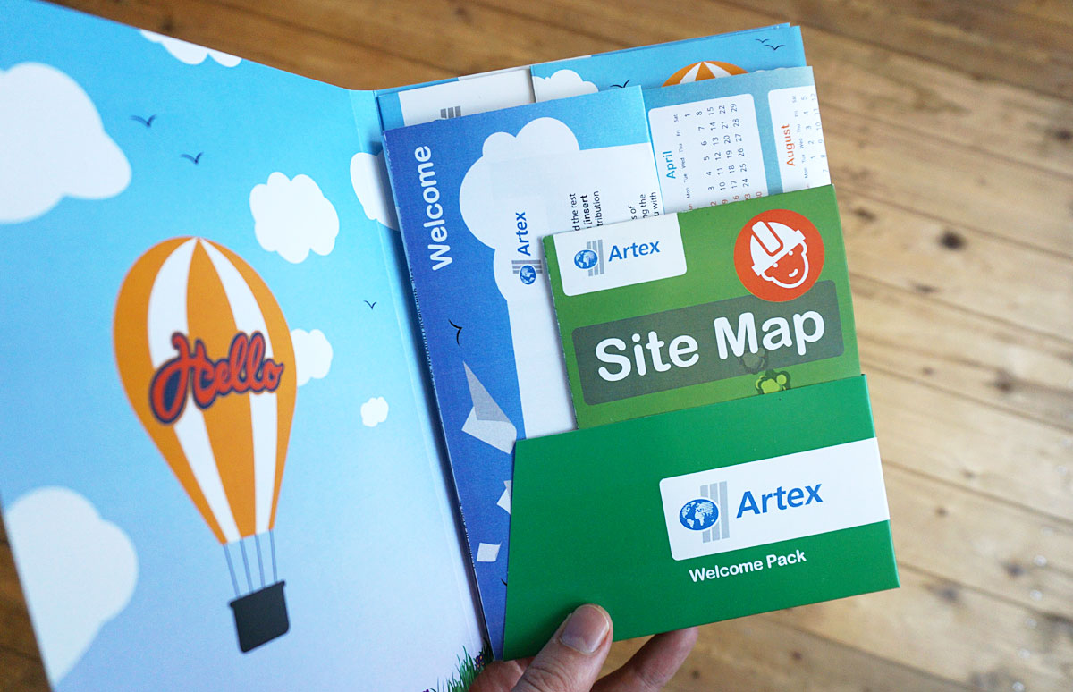 Artex Welcome Pack