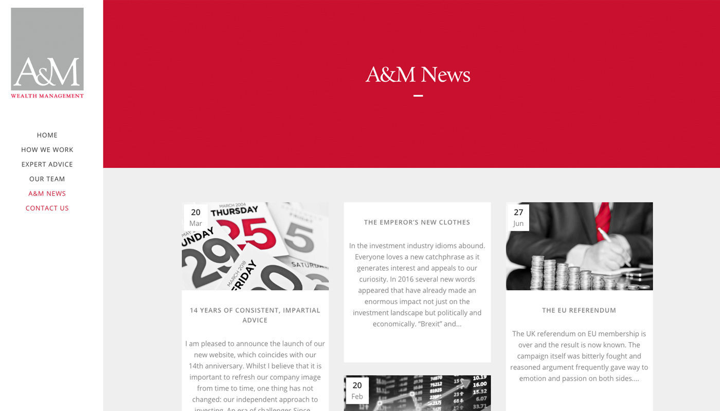 A&M Wealth News Page